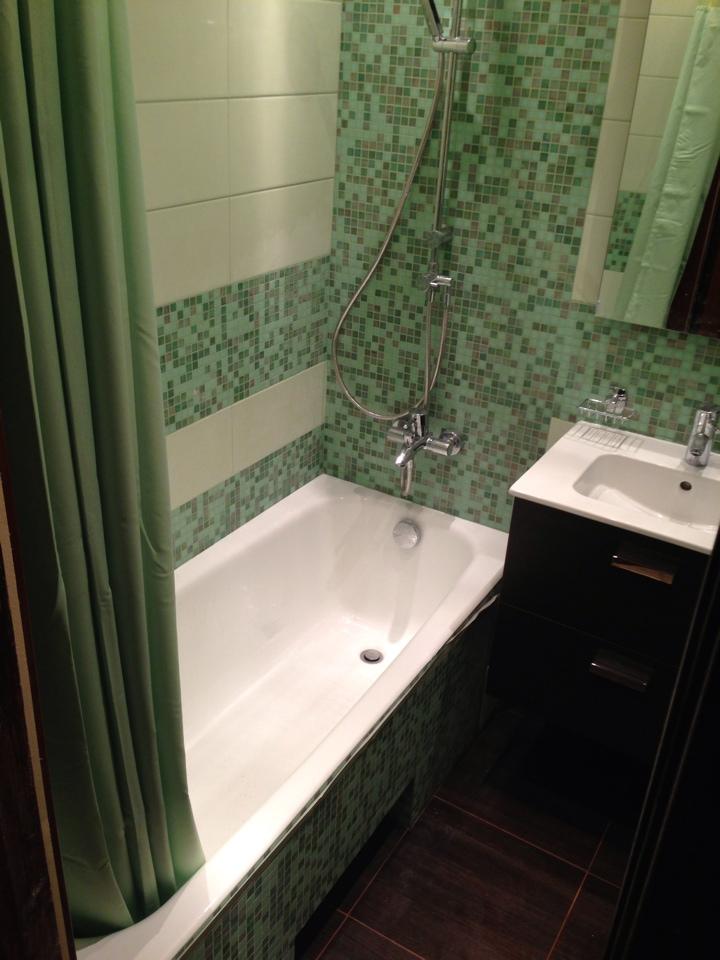 Ремонт в ванной 150 на 135