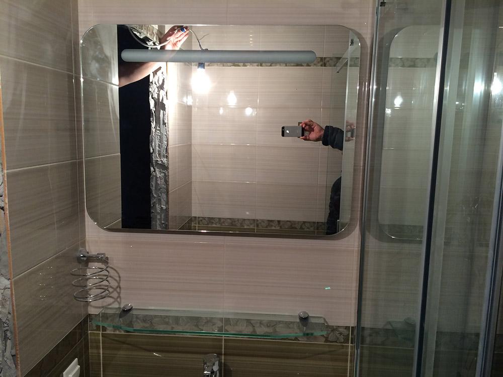 Фо�о �емон�а ванной комна�� под кл�� в Санк�Пе�е�б��ге